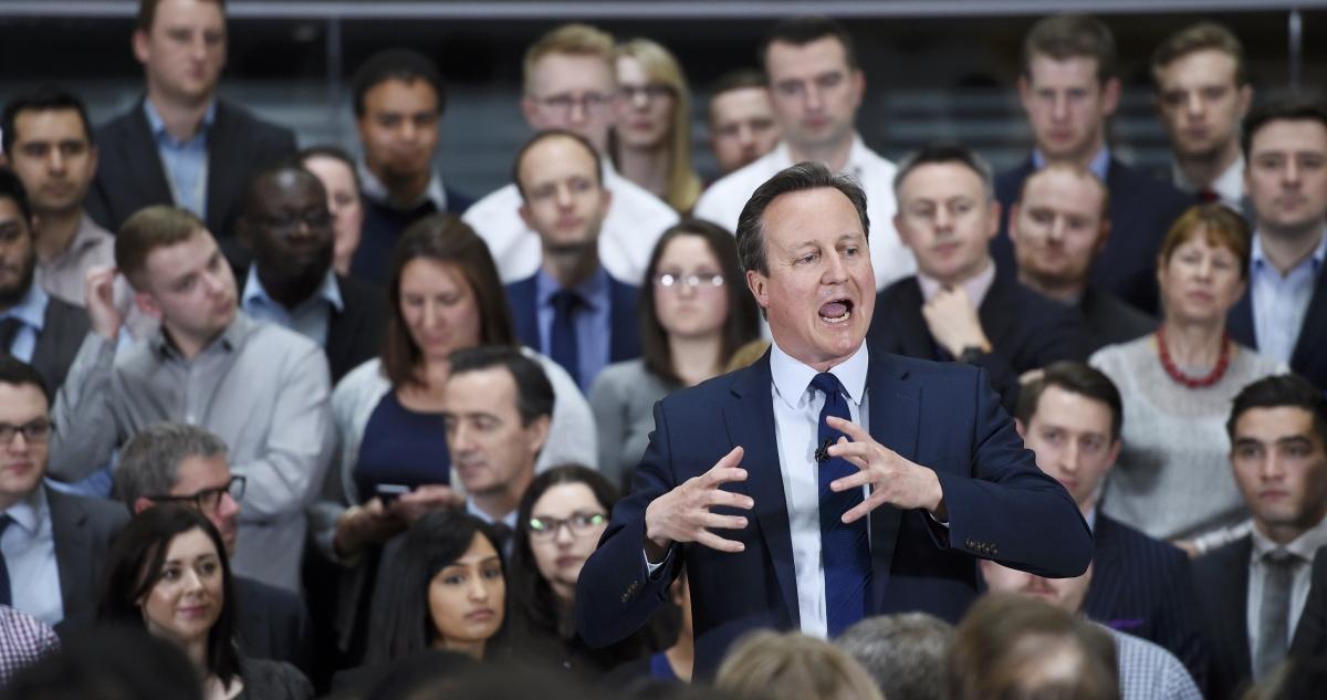 David Cameron in Birmingham