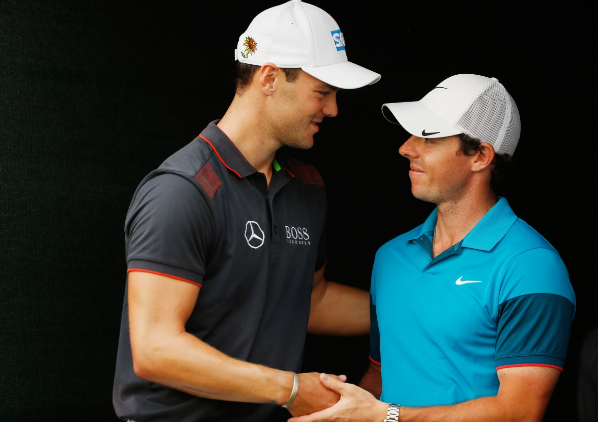 Rory McIlroy and Martin Kaymer