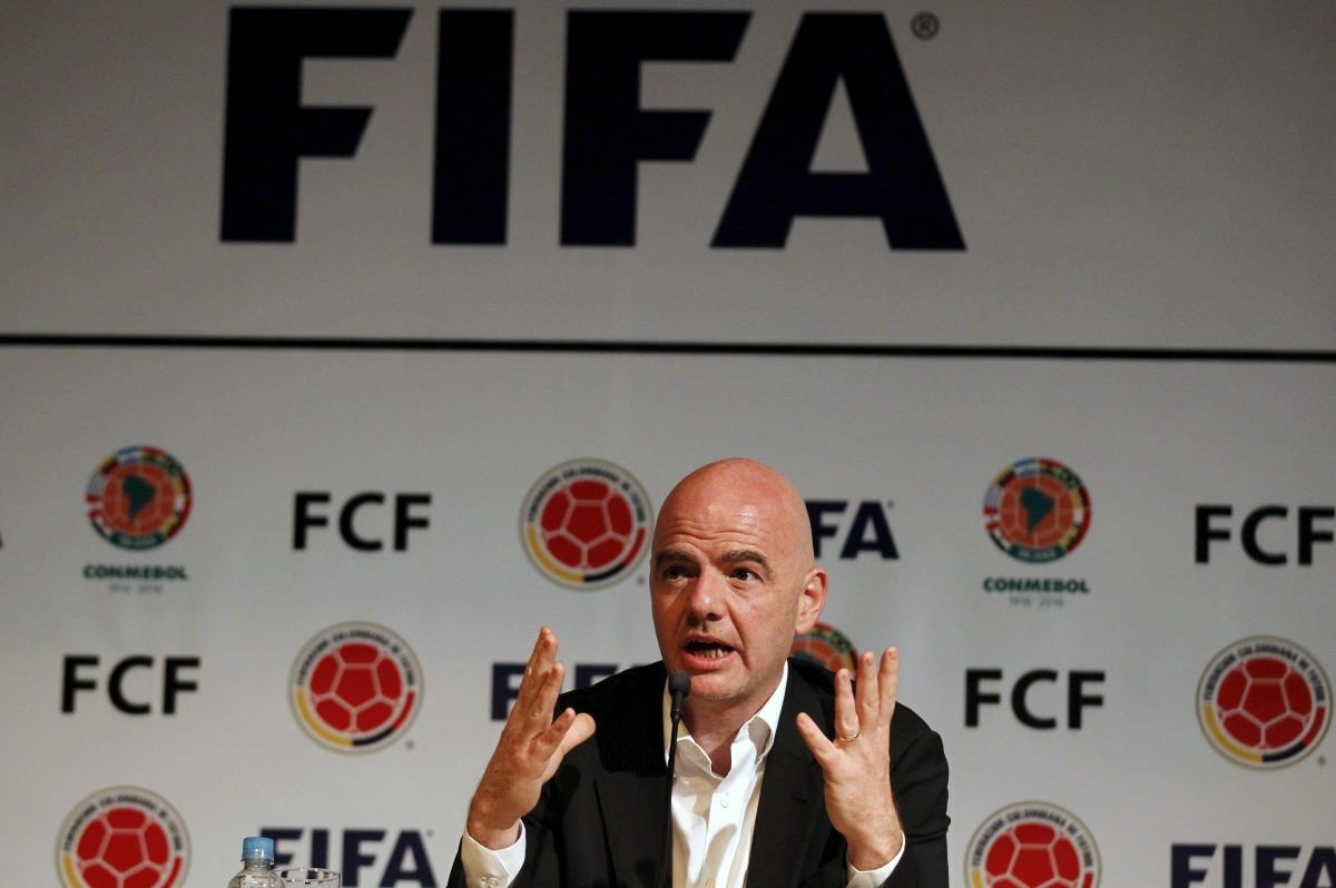 Gianni Infantino Fifa Panama papers scandal