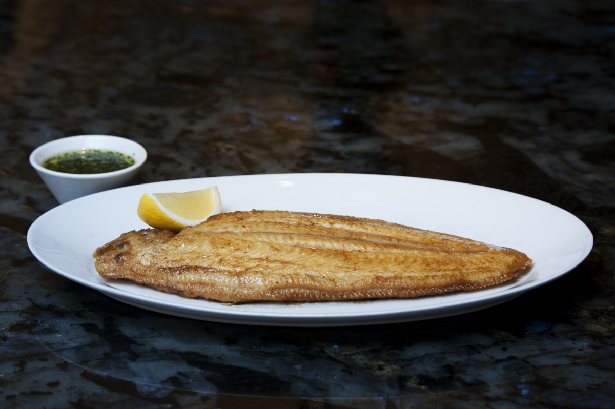 Dover sole at 8 Mount Street