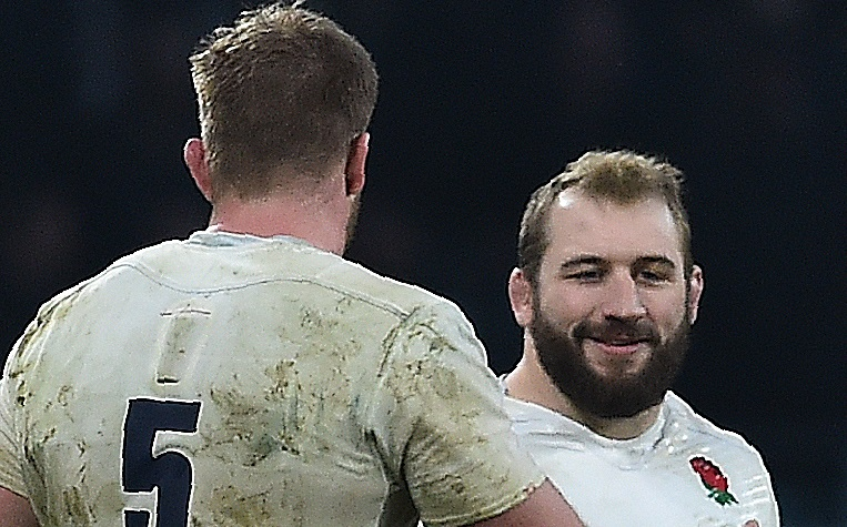 George Kruis and Joe Marler