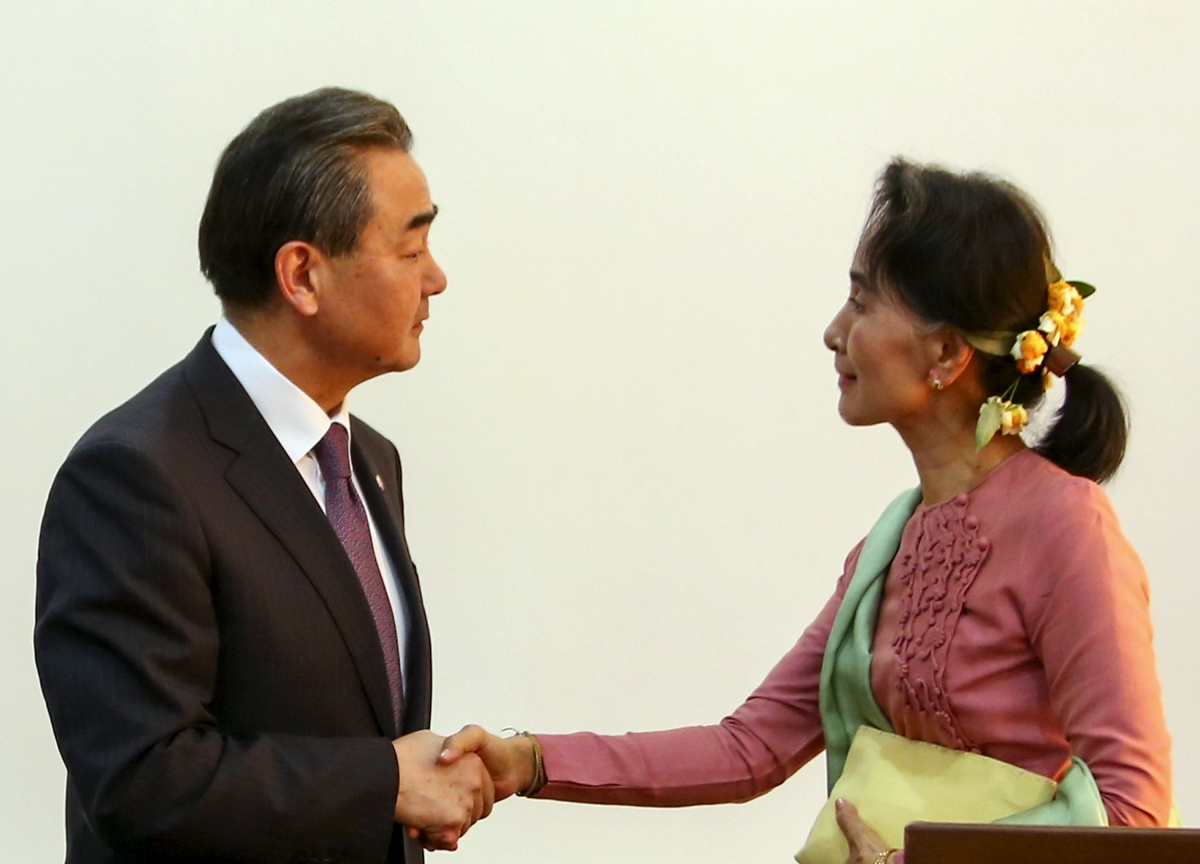 China Myanmar relations