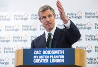 Zac Goldsmith at Policy Exchange