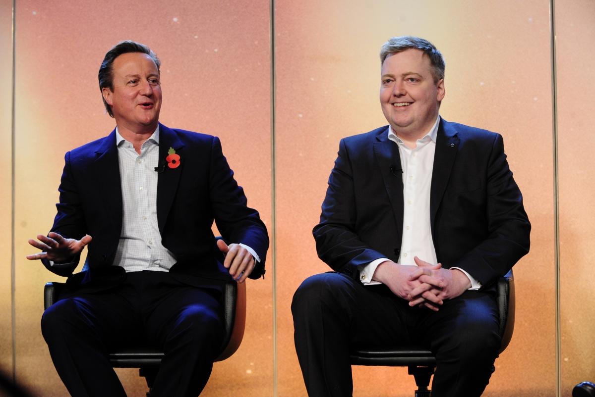David Cameron and Sigmundur David Gunnlaugsson