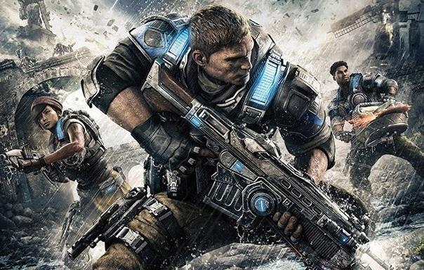 Gears of War 4 Box Art Fenix