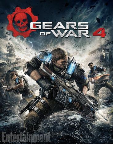 Gears of War 4 box art