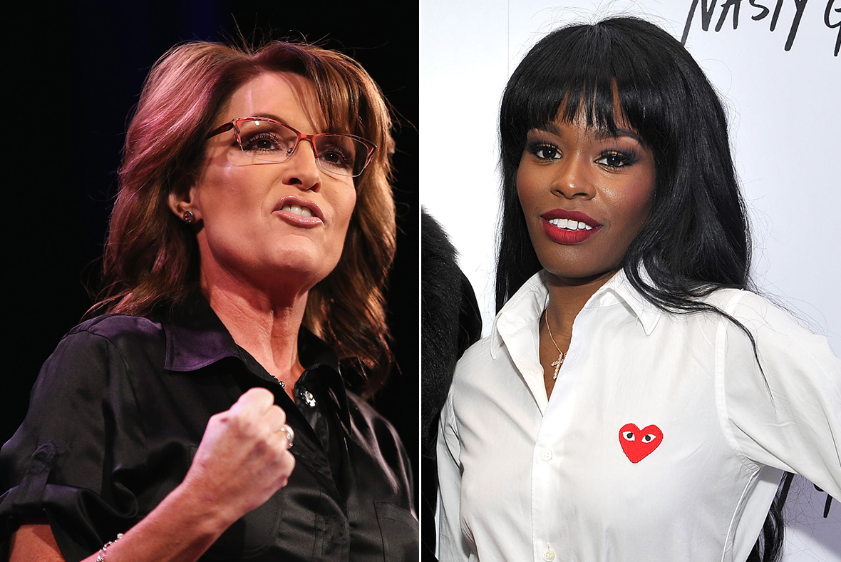 Sarah Palin, Azealia Banks
