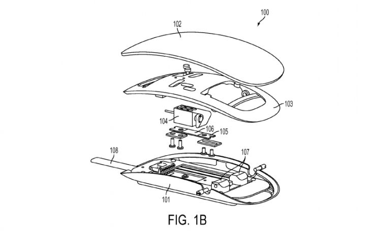 Magic Mouse Force Touch patent