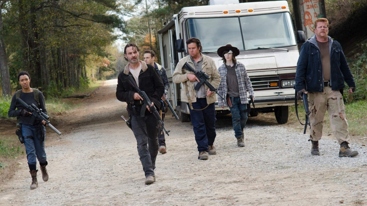 The Walking Dead finale