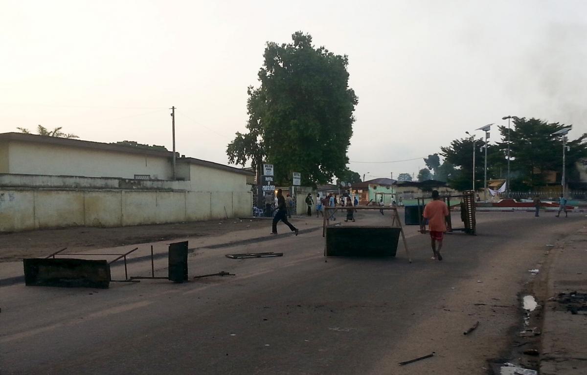 Protests in Brazzaville, Republic of Congo