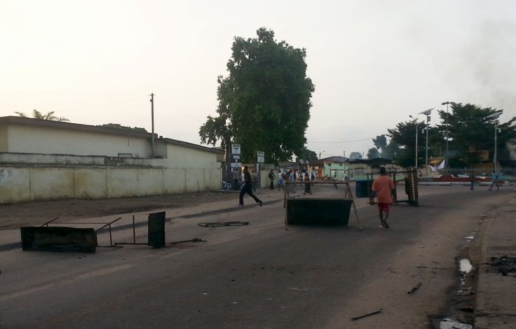 Protests in Brazzaville, Republic of Congo
