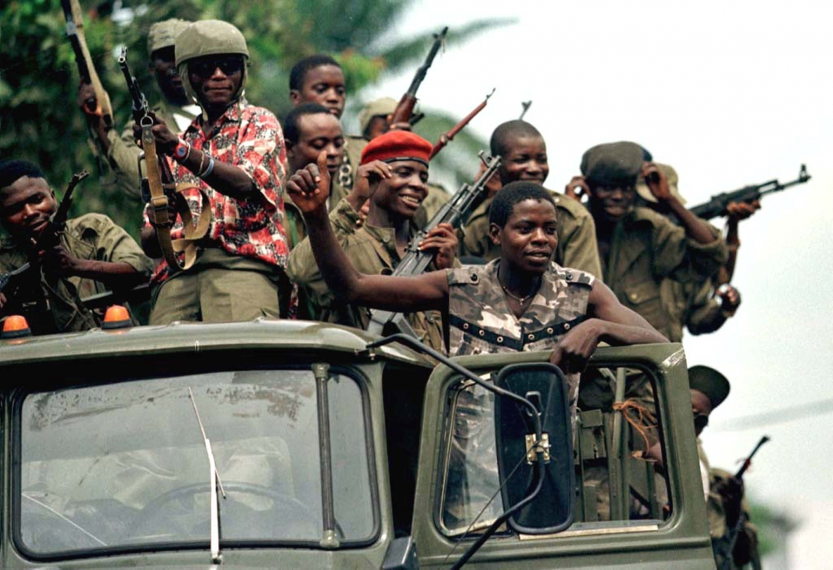 War in Republic of Congo 1997