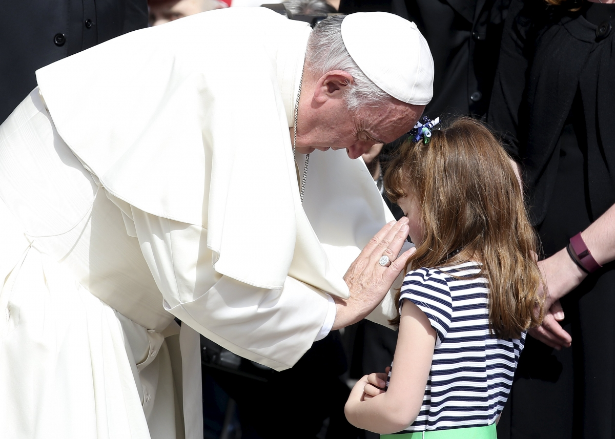 Lizzy Myers and the Pope