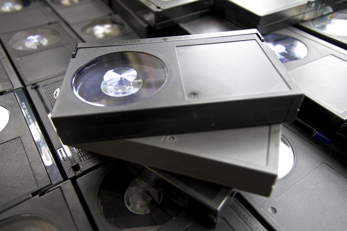 Betamax video cassette