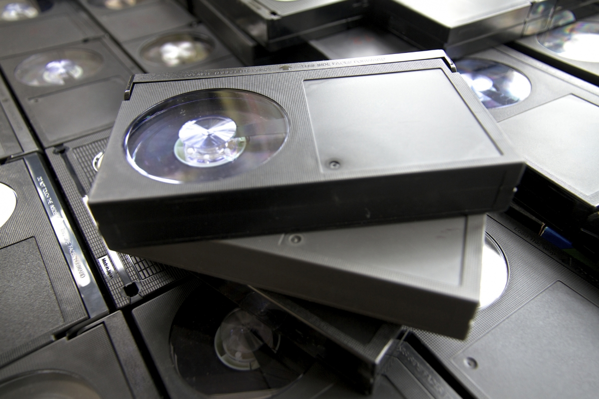 Betamax video cassette