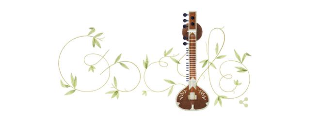 Pandit Ravi Shankar Google Doodle