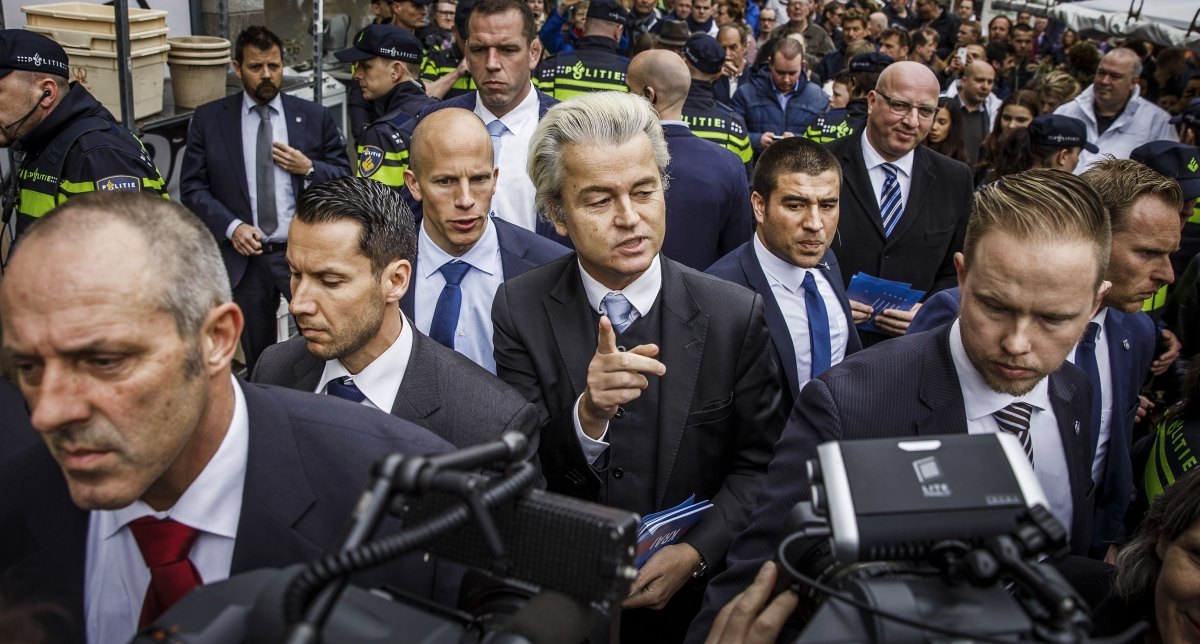 Far-right Geert Wilders
