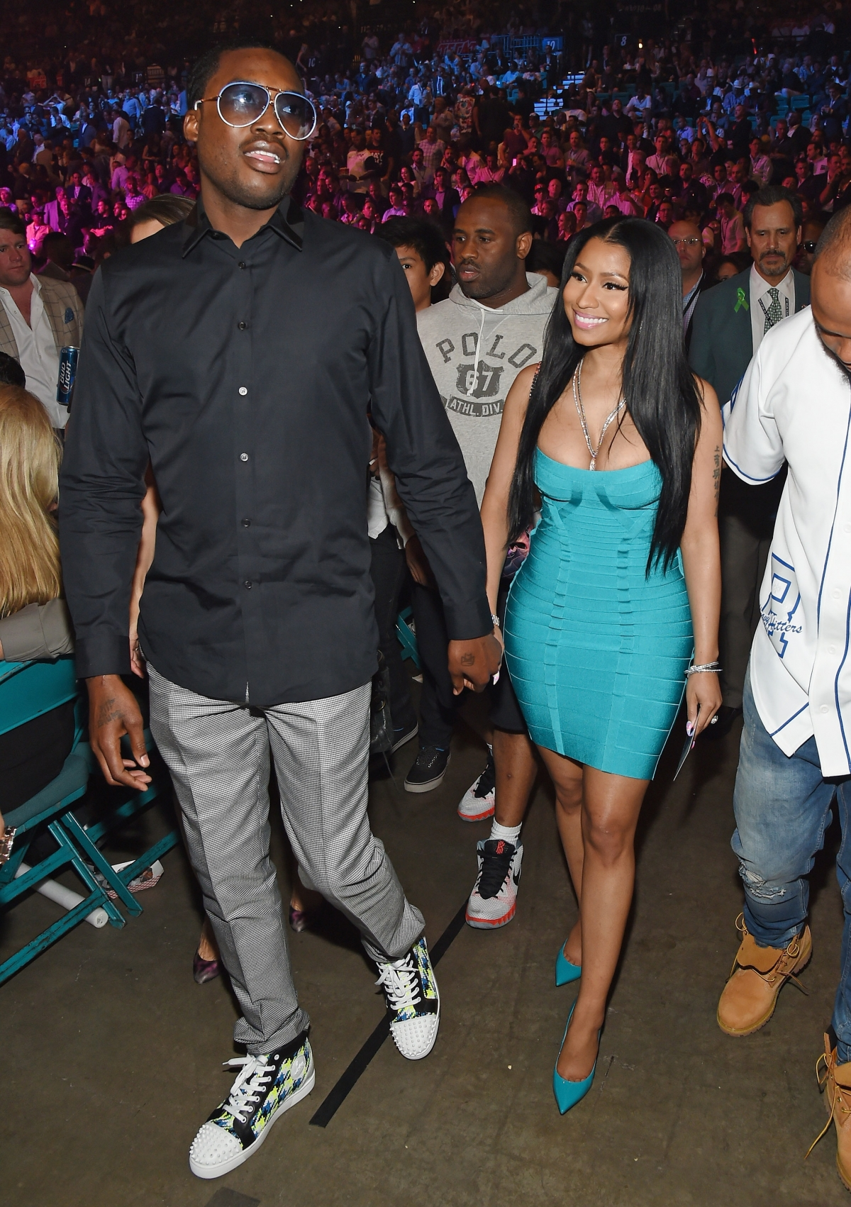 Meek Mills and Nicki Minaj