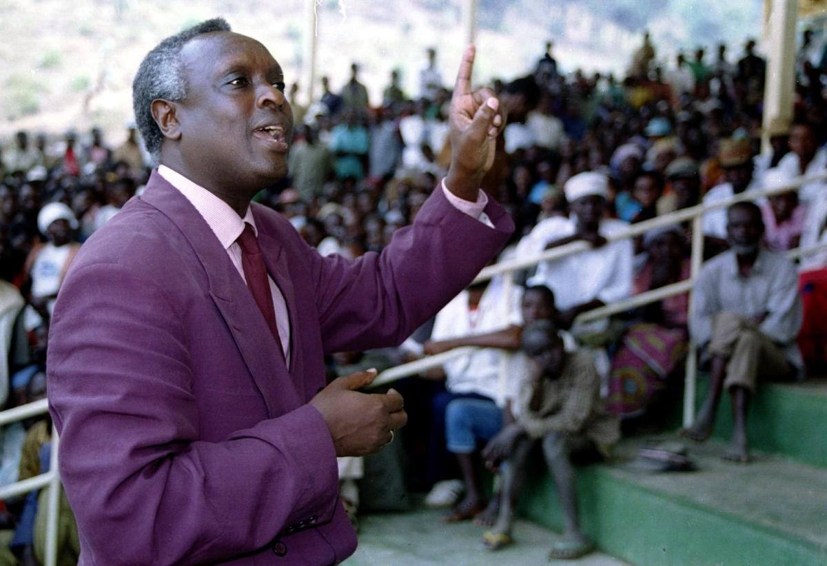 Rwandan Government Minister Jacques Bihozagara