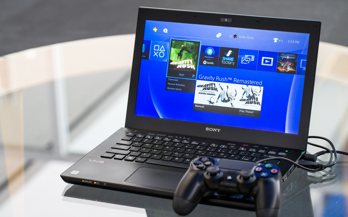 ps4 remote play windows 8
