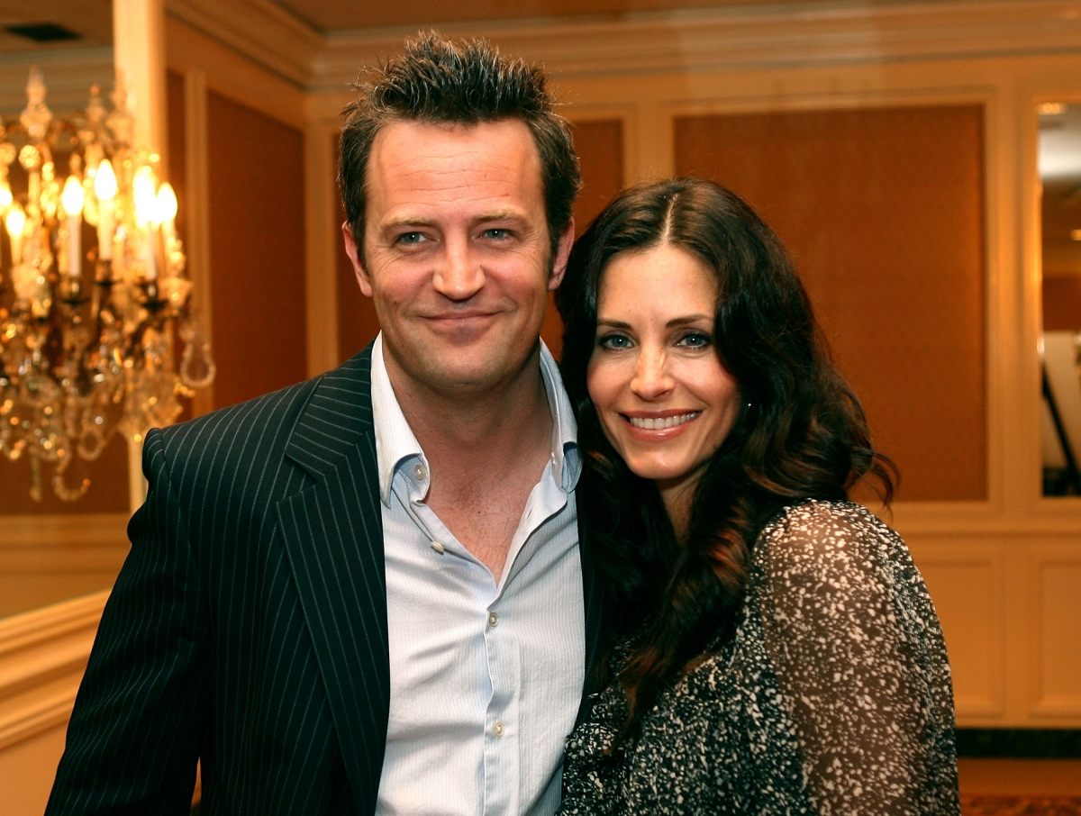 courteney cox matthew perry