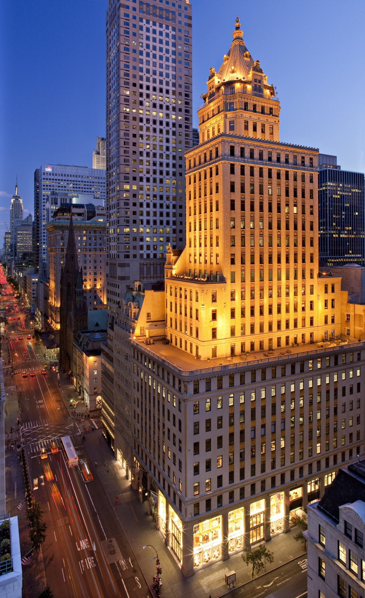 The Crown Building New York