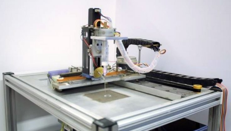 Selective Separation Sintering  3D printer
