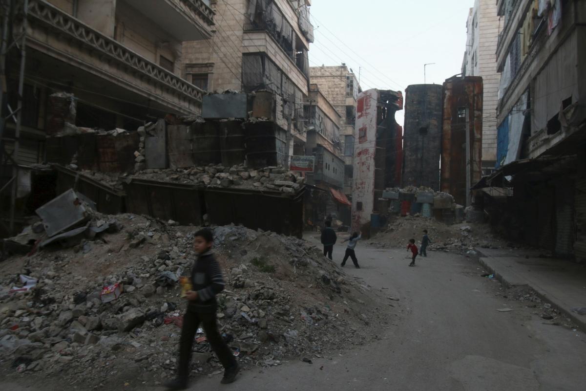 aleppo syria YPG Isis conflict FSA