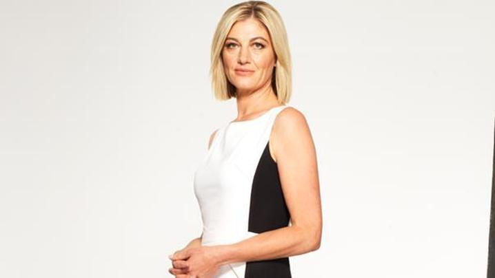 Channel 9 reporter Tara Brown