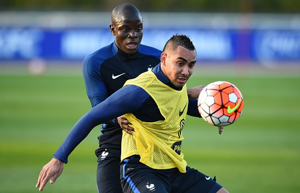 N'Golo Kante and Dimitri Payet
