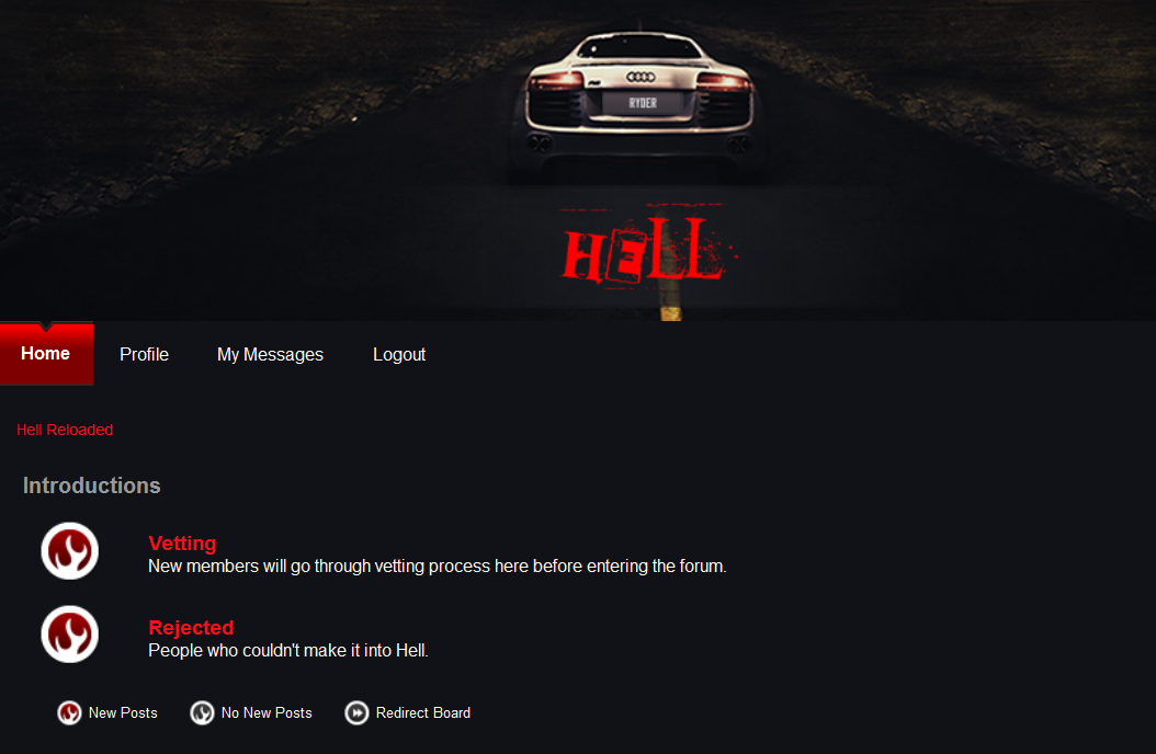 Hell forum