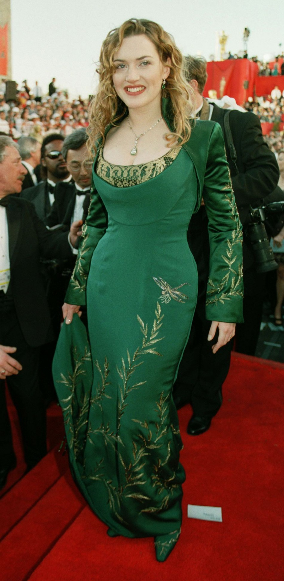 ACTRESS KATE WINSLET ARRIVES AT THE ACADEMY AWARDS