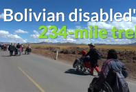 Bolivia wheelchair trek