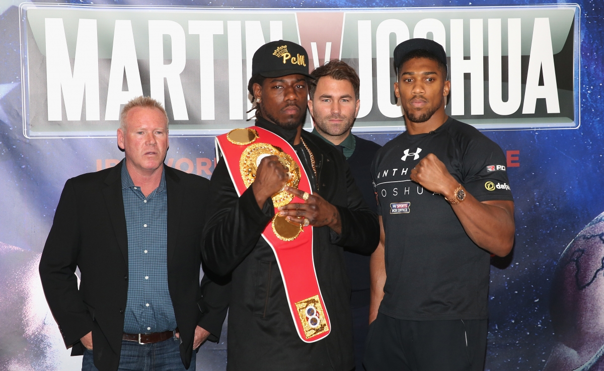 Charles Martin vs Anthony Joshua