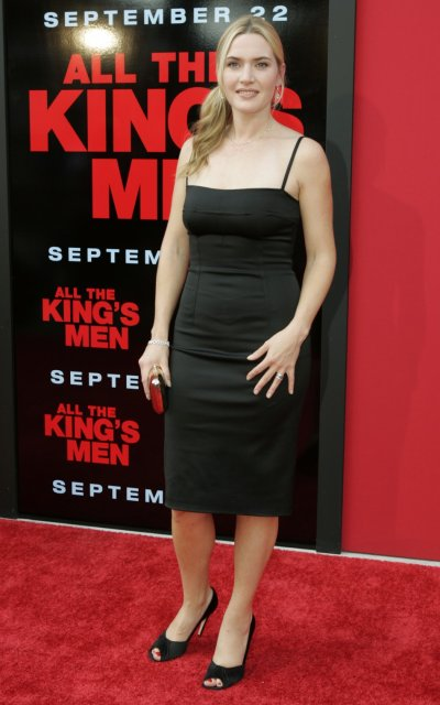 Winslet arrives for the premiere of quotAll the King039s Menquot in New Orleans