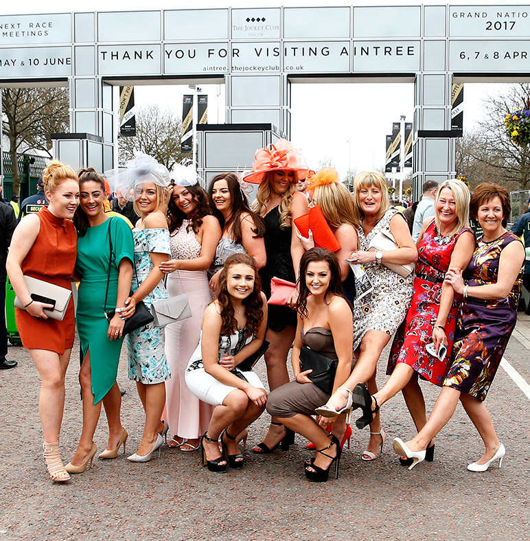 ladies day aintree