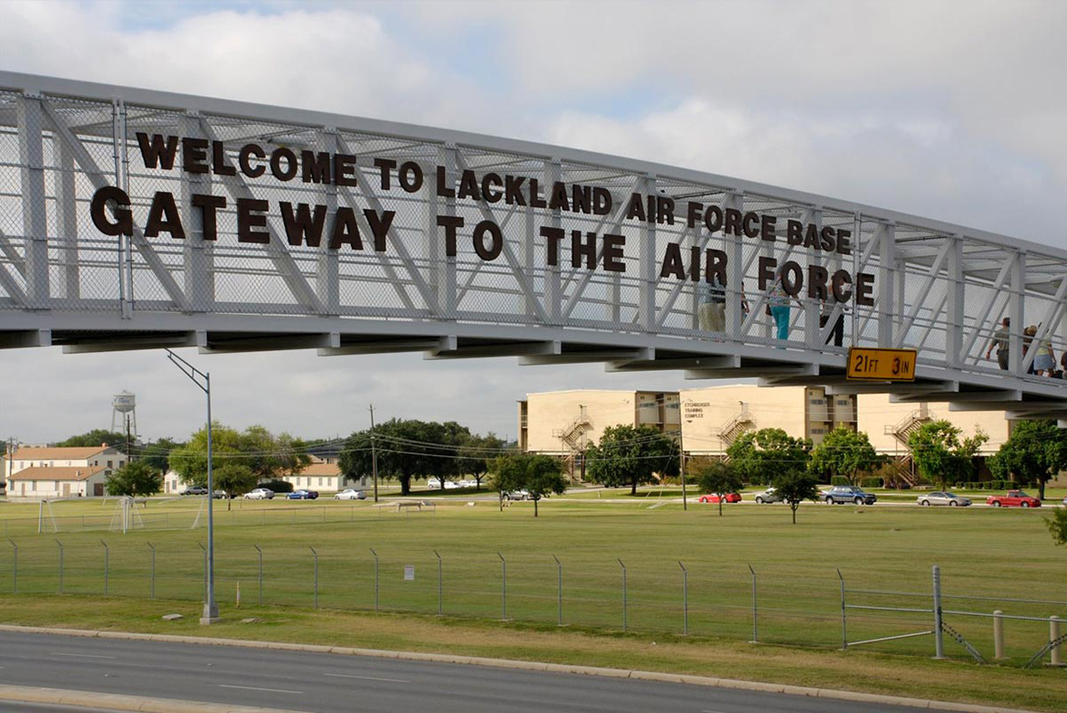 Murder Suicide Shooting At Lackland Air Force Base In