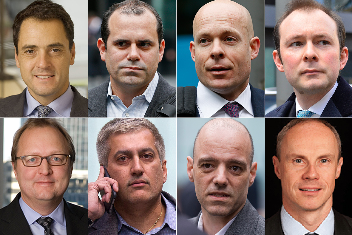 Four ex-Barclays traders sentenced to prison on LIBOR rigging