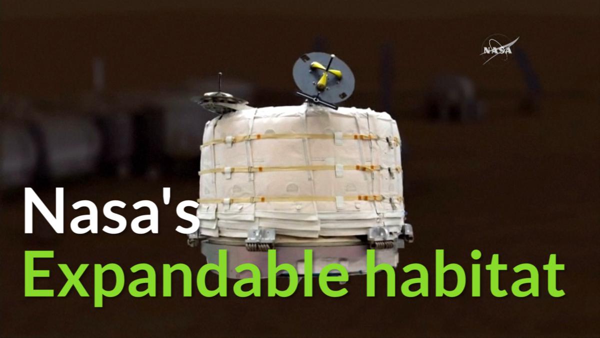 Nasa expandable habitats