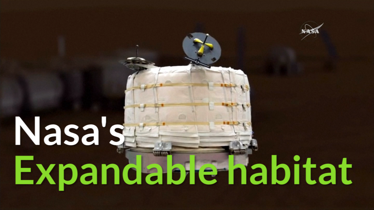 Nasa expandable habitats