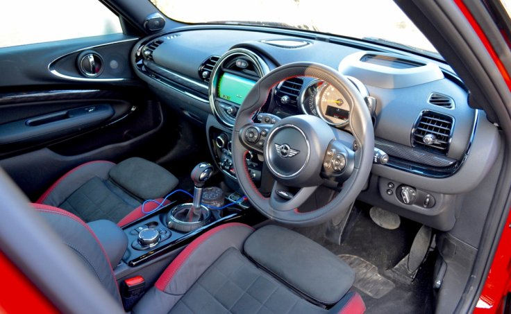 Mini Clubman Cooper S interior
