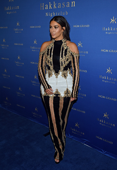 Kim Kardashian West at the Hakkasan Las Vegas Nightclub