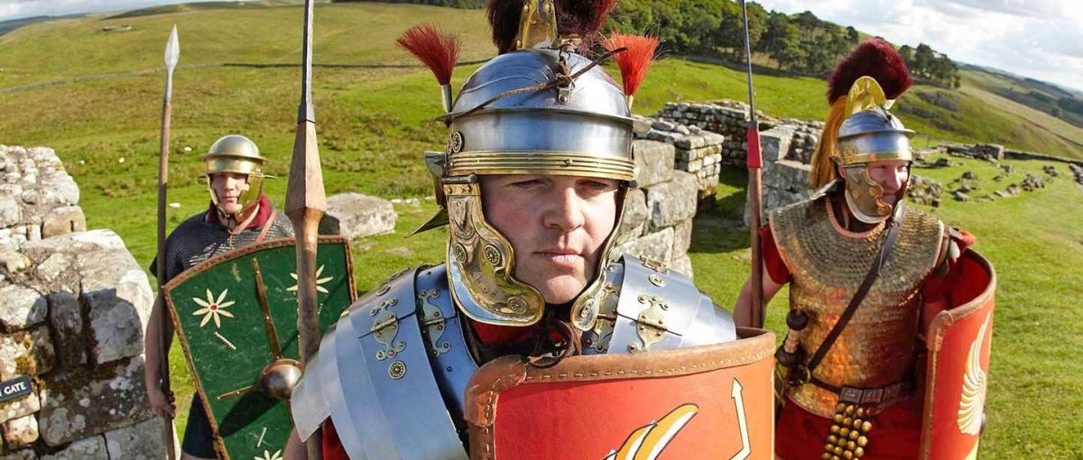B And B Along Hadrian's Wall World's largest re-enactment of Roman cavalry set for Hadrian's Wall