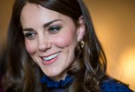 Kate Middleton attends Kensington palace
