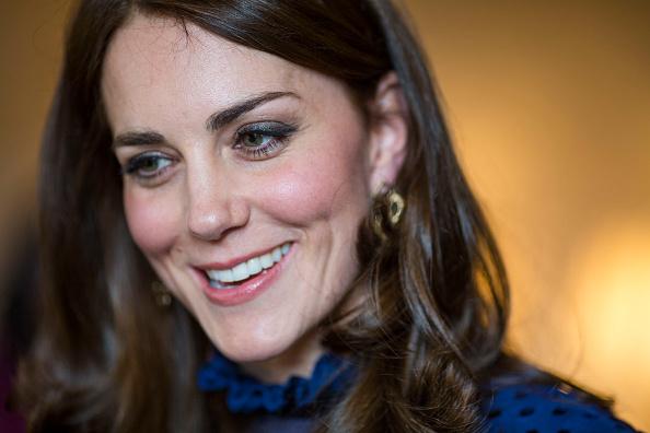 Kate Middleton attends Kensington palace