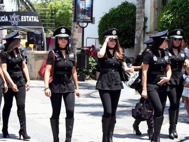 Mexico all-female police unit