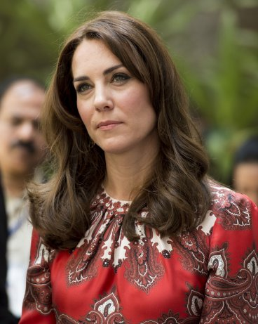 Kate Middleton on tour in India