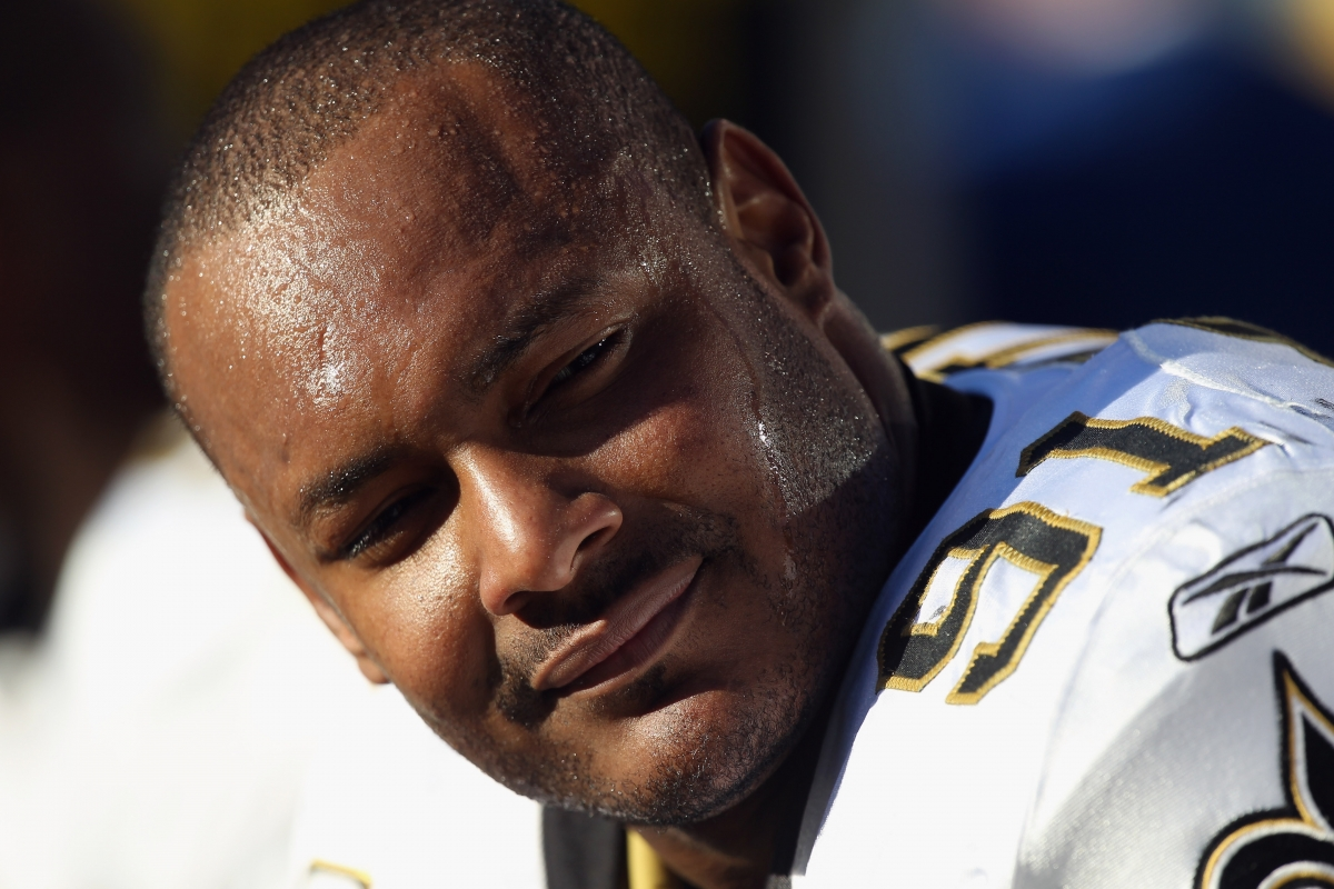 Former New Orleans Saints defensive end footballer Will Smith