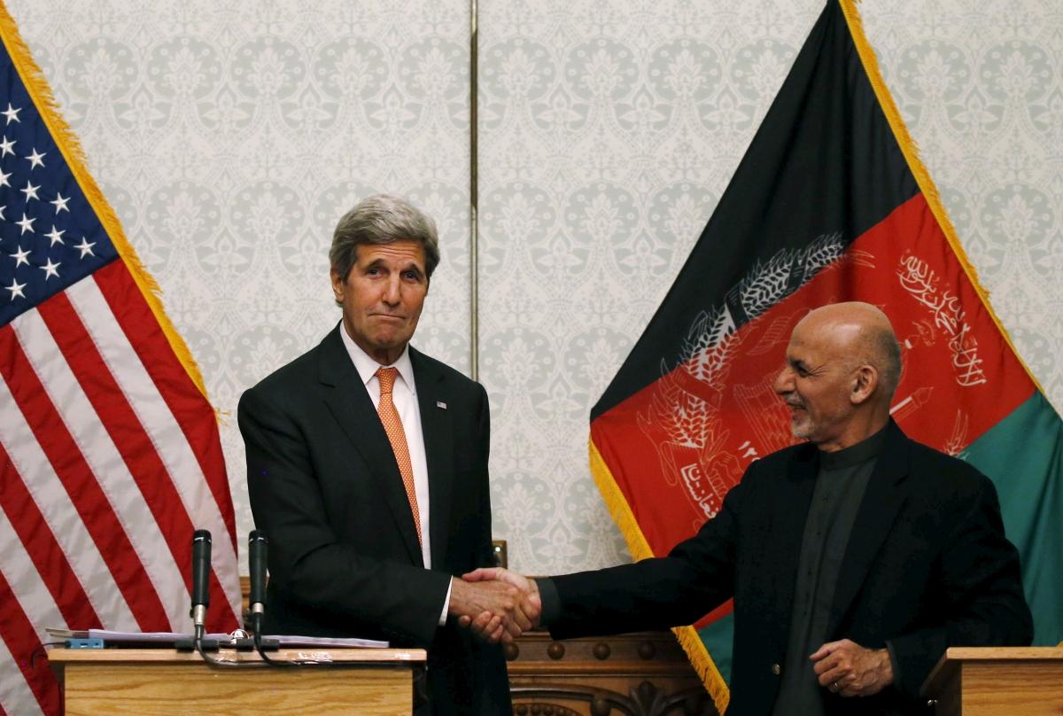 John Kerry in Afghanistan