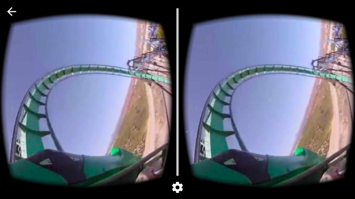 YouTube 360 coaster